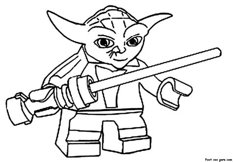 best website for printing photos wars yoda coloring pages and print for free