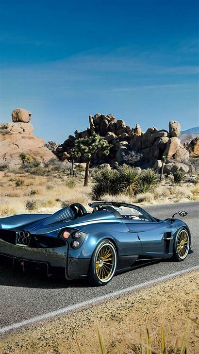 Pagani Huayra Roadster Supercar Geneva Cars Vertical