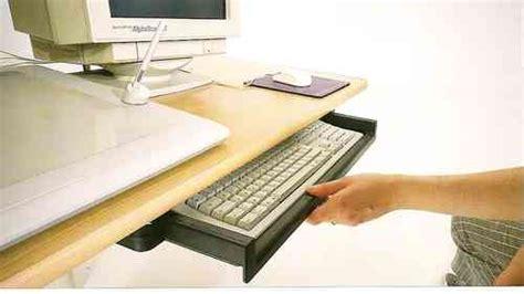 馗ran pour ordinateur de bureau support clavier ordinateur noir 2b7 cuisinesr ngementsbains