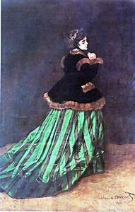 monet robes and art on pinterest With robe verte femme