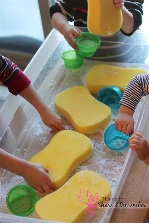 preschool water table ideas 222 | sponges3