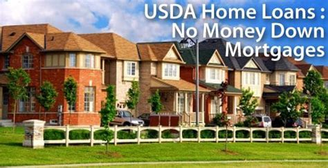 usda home loans  financing   mortgage rates