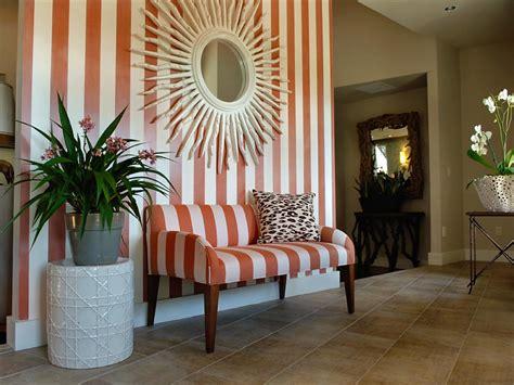 theme mirror interior striped foyer theme with sunburst wall mirror