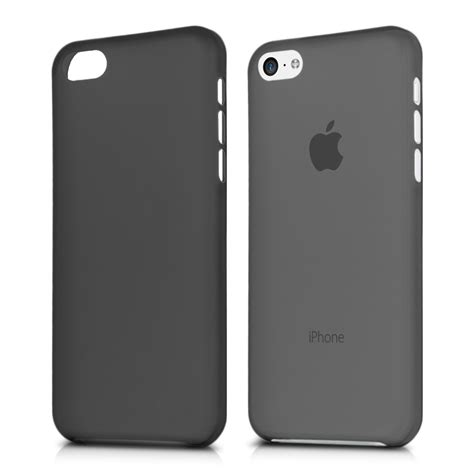 black iphone 5c slim for apple iphone 5c black ultra thin cover shell