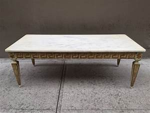 antique italian neoclassical style marble top coffee table With antique marble coffee table for sale
