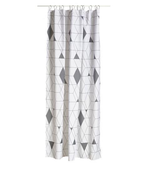 rideau de douche arlequin noir et blanc wadiga com