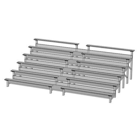 3d Stadium Benches Model
