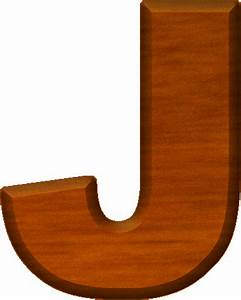 presentation alphabets cherry wood letter j With wooden letter j