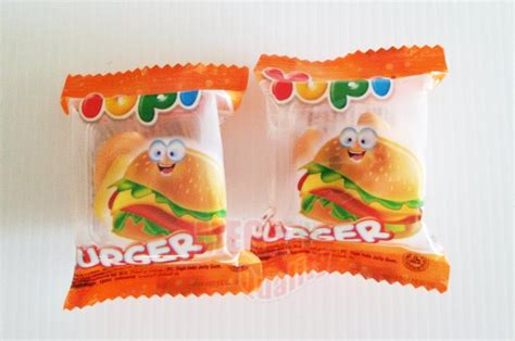 Yupi Gummy Candies Sour yupi burger snack candies sweet jelly gummy mixed