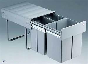 Einbau Mülleimer 2 Fach : wesco einbau 3 fach k chen abfalleimer 1x16l 2x8l ~ Watch28wear.com Haus und Dekorationen