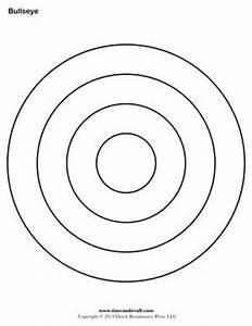 bullseye printable for the kids pinterest With bullseye template printable