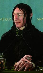 Severus Snape Has a New Look in The Illustrated 'Harry ...