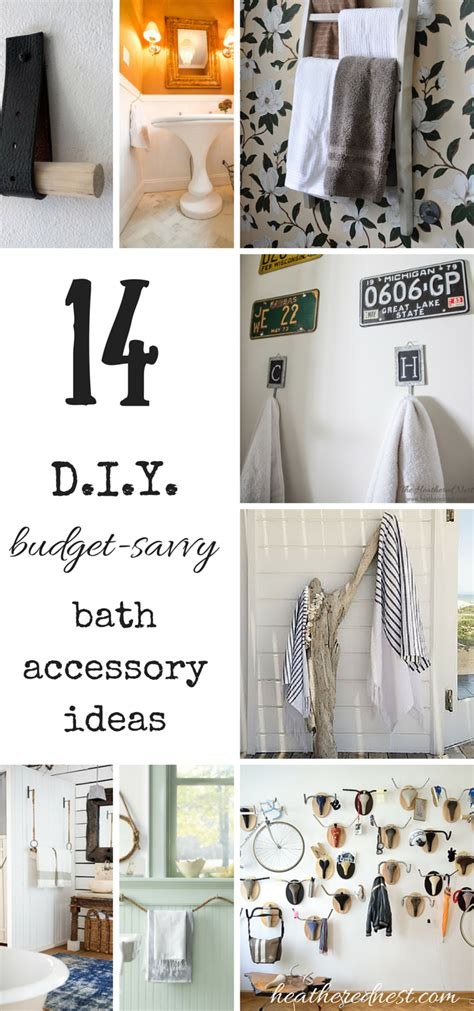 throw   towel  budget diy bathroom ideas