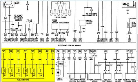 1998 Jeep Wrangler 4 0 Injector Wiring Diagram by Jeep Were Can I Find An Ecu Elecrical Diagram For