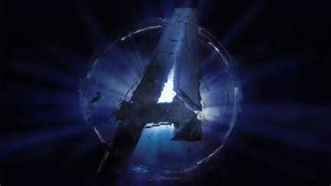 avengers endgame  logo hd wallpaper