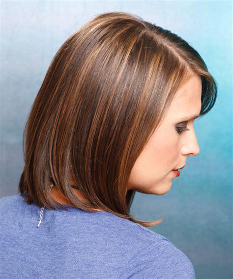 stylish haircuts medium casual bob hairstyle chestnut 9908
