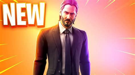 The New John Wick Skin In Fortnite..
