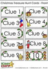 Scavenger Ideas 2019 Christmas Scavenger Hunt Printable Clues