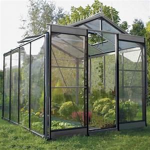 Serre En Polycarbonate Ou En Verre : serre jardin promo ~ Premium-room.com Idées de Décoration