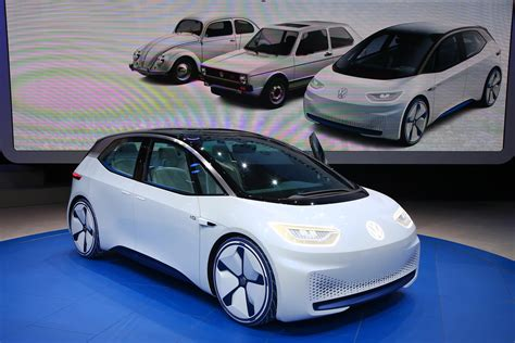Afbeelding 2 Van Elektrische Volkswagen Id Concept Met