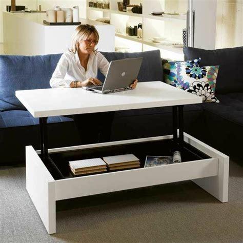 table basse en bois conforama choisir le meilleur design de la table basse avec rangement