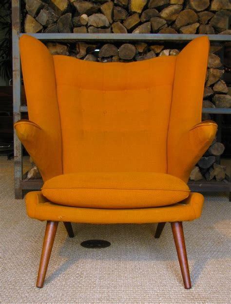 a vintage lounge chair in the style of hans wegner quot papa