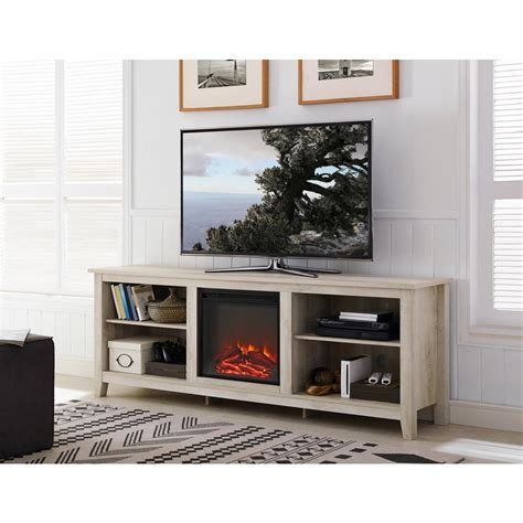 walker edison furniture company   wood media tv stand