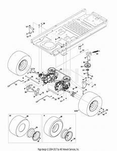 Troy Bilt 17arcacs011 Mustang 42 Xp  2014  Parts Diagram For Drive System