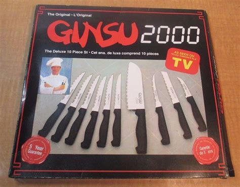 ginsu seen knives 2000 knife deluxe pc kitchen sets things chef