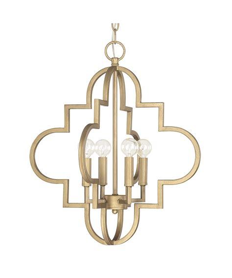 brushed gold light fixture capital lighting 4541 ellis 18 inch large pendant
