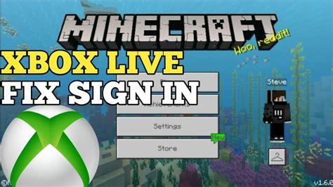 mcpe   fix xbox  sign  problem youtube