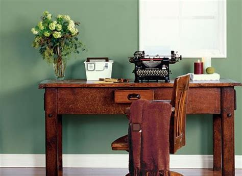 ideas for home office paint colors