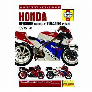 Honda Vfr 400 Nc30  U0026 Rvf400 Nc45 Haynes Workshop Manual