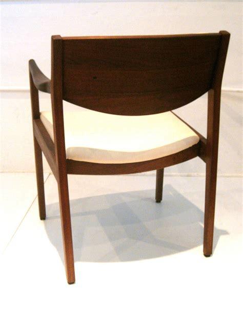 W H Gunlocke Chair Value by Pair Of Modern Solid Walnut Armchairs By Gunlocke