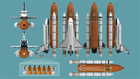 LEGO IDEAS - Product Ideas - NASA Space Shuttle (Saturn V ...