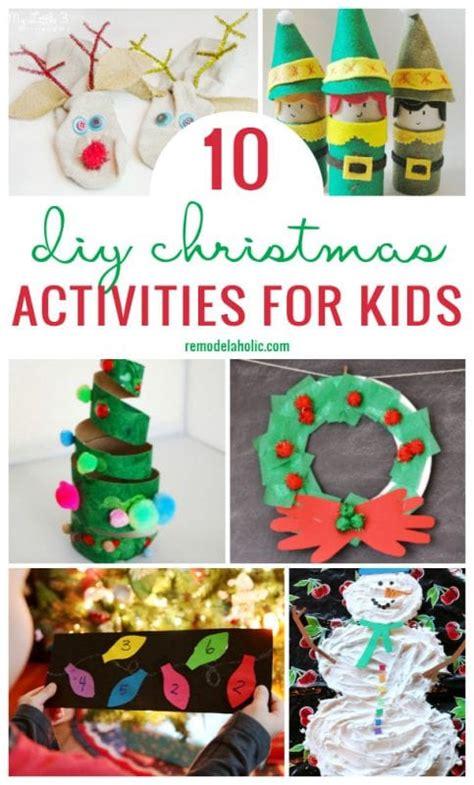 remodelaholic  diy christmas activities  kids