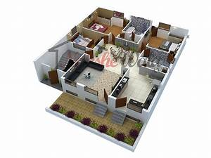 3D Floor Plans 3D House Design 3D House Plan Customized