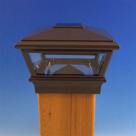 versacap solar post cap light  deckorators decksdirect