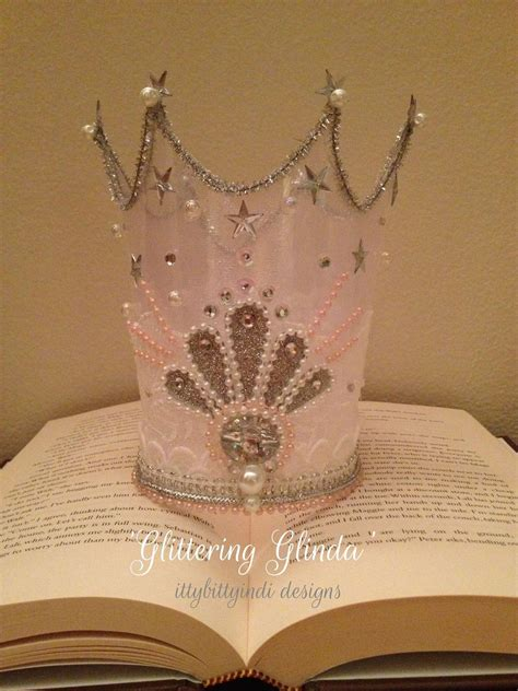 glittering glinda crown inspired   tale  wizard