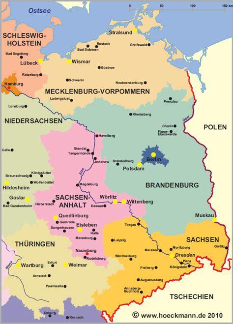karte osten deutschland  blog