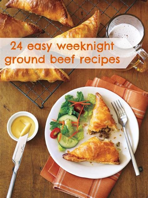 easy dinner recipes with hamburger ground beef recipes beef recipes and ground beef on pinterest
