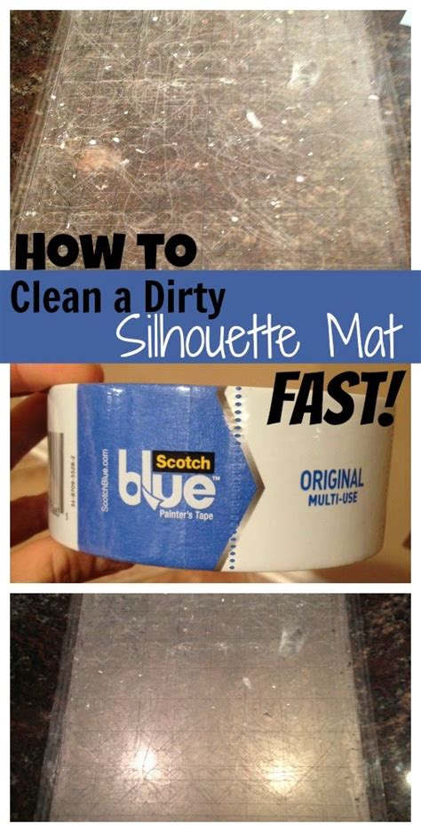how to clean mat silhouette cutting mat cleaning easiest way to remove