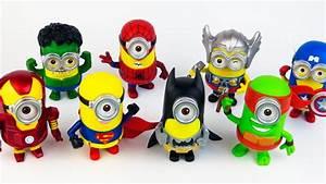 8 Jajko Niespodzianka Minions Avengers Kinder ...