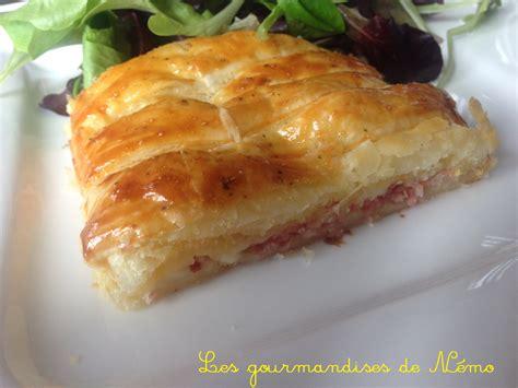 tresse feuillet 233 e jambon fromage les gourmandises de n 233 mo