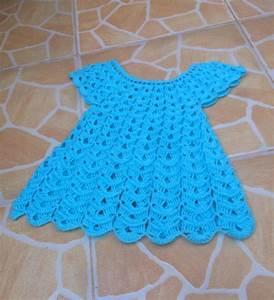 crochet robe en relief magnifique 1 vestido en relieve With robe en tricot