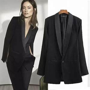 Blazer Femme Noir : blazer noir ~ Preciouscoupons.com Idées de Décoration