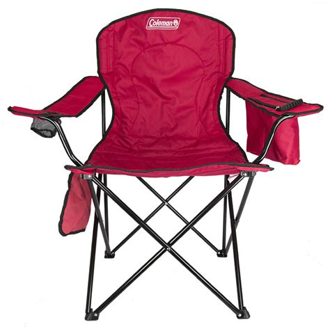 Coleman Oversized Chair With Cooler Pouch by 2 Coleman Cing Outdoor Oversized Chairs W Cooler