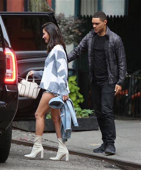 Trevor Noah and Olivia Munn Out and About in NYC