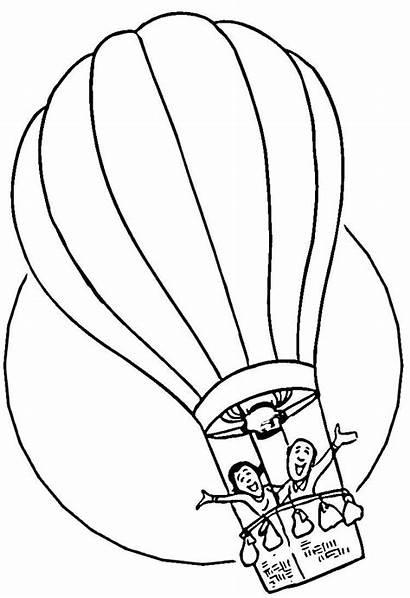 Coloring Seuss Dr Balloon Air Printable Places