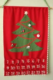 rick rack trim make your own advent calendar